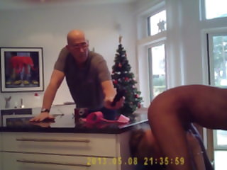 mature blonde Christmas cuckold