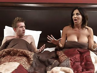 creampie big tits Tara Holiday & Danny D in Overnight With Stepmom: Part One - Brazzers