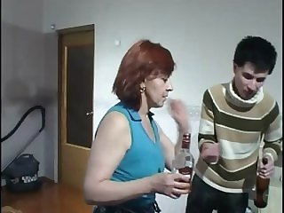 milf hardcore Celebrating With Mom