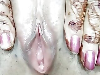 fingering asian Indian newly married wife pussy played by hubby
