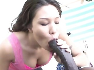 big boobs asian Horny Alessa needs a big black cock