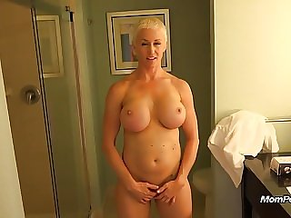 milf mature Busty MILF is a total freak
