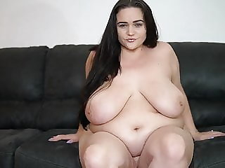 bbw brunette Beautiful big girl