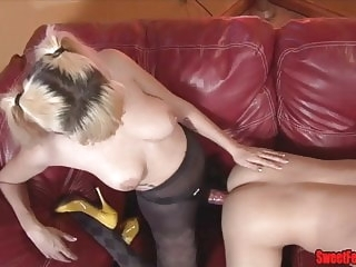 bisexual bdsm Meet Our New Lover CUCKOLDING FEMDOM PEGGING CUM EATING