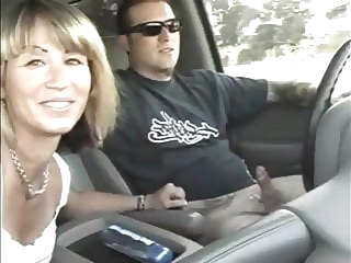 cumshot amateur Amateur Car Handjobs and Blowjobs while driving