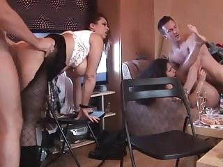 babe amateur Home Orgy 2