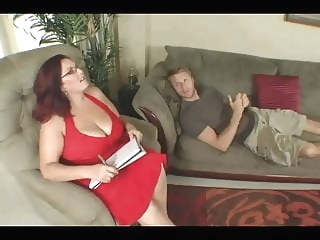 hardcore bbw Big Titted BBW Therapy For His Cock