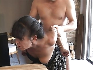 mature anal I Turned My Tiny Mexican Granny Maid Into an Anal Slave