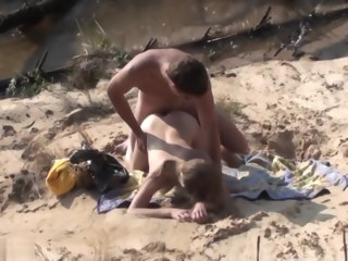 beach amateur Swinger Outdoor Beach Gang Bang Public Sex Part Ii