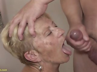 years 89 89 years old granny rough fucked