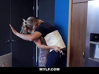 dick mylf MYLF - Big Dick Stepson Cums All Over Hot Cougar Stepmom