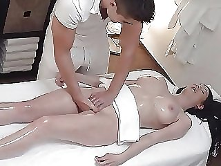 hidden camera amateur Unexpected Breasts and Pussy Massage