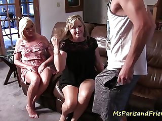blowjob amateur Mommy's Friend is As Slutty as Her
