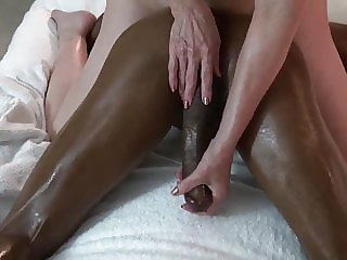 interracial top rated Cougar & Younger Bull