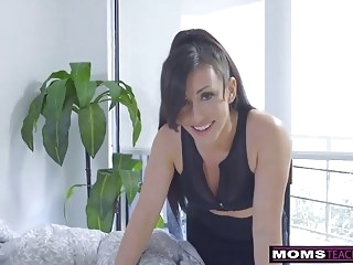 top rated hardcore Step-Mom Wakes Son For Cock And Creampie S7:E2
