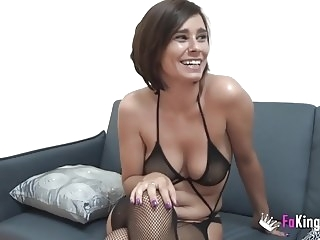 milf amateur Two Spanish MILFs love riding Jordi's cock