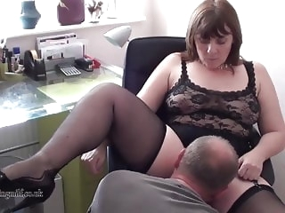 milf stockings British Milf performs on webcam
