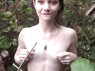 public nudity amateur forest masturbating