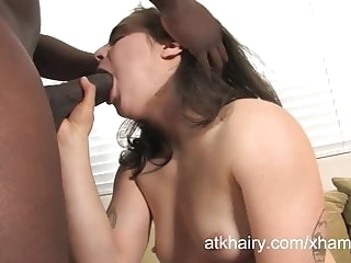 cumshot amateur Big black cock fucks this hairy pussy