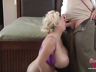 hd videos milf Claudia Marie Gets Her Fake Tits Put Back In!