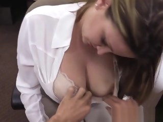 big tits amateur Bigtitted pawning wife pounded for money
